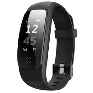 Fitness Armband,Juboury Fitness Tracker mit Pulsmesser Aktivitätstracker Herzfrequenz,Schrittzähler,SchlafMonitor,KalorienTracker,Stoppuhr IP67 Wasserdicht FitnessUhr Armbänder for Android/iOS Phone