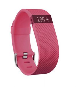 Fitbit Charge HR Fitness and Sleep Tracker – Pink, Small