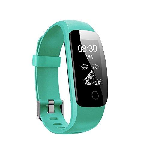 Fitness Tracker HR, Letsfit Fitness Armband mit Pulsmesser, IP67 Wasserdicht smart Aktivitätstracker Schrittzähler, Kalorienzähler Sport Uhr mit Schlafanalyse Fitness Uhr für iPhone und Android