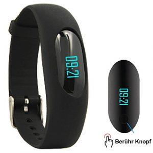 Willful Fitness Armband Schrittzähler Uhr Ohne Bluetooth Fitness Tracker Aktivitätstracker mit Schlafüberwachung, Kalorienzähler, Entfernung für Damen Herren Outdoor-Rennen Gehen (Ohne APP Handy)