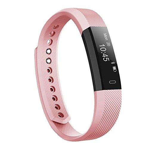 Letsfit Fitness Tracker Fitness Armband Schrittzähler Uhr mit Schlaf-Monitor Aktivitätstracker für Männer Frauen und Kinder Wasserdicht IP67 Kompatibel mit IOS und Android