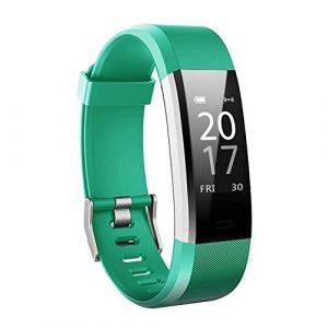 Toksum® Boost 2® Slim Fitness Tracker Smart Armband | tragbar Touch Bildschirm Wasserdicht Activity Tracker Schrittzähler Armbanduhr Armband mit Sleep Monitor | für Kinder, Damen und Herren | für iPhone & Android