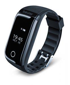 Beurer AS 97 Aktivitätstracker und Fitnessarmband mit Pulsuhr, Aktivitätssensor, Schlafanalyse, Schrittzähler, Bewegungserinnerung und App