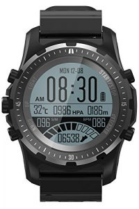 GPS Uhr Armband Kompass Outdoor Fitness Tracker Bluetooth Barometer Höhenmesser Herzfrequenz Smartwatch Fahrrad Modus Aktivitätstracker Anruf/SMS IOS Android