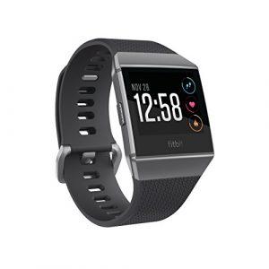 Fitbit Health und Fitness Smartwatch Ionic, Charcoal, OneSize, FB503GYBK-EU