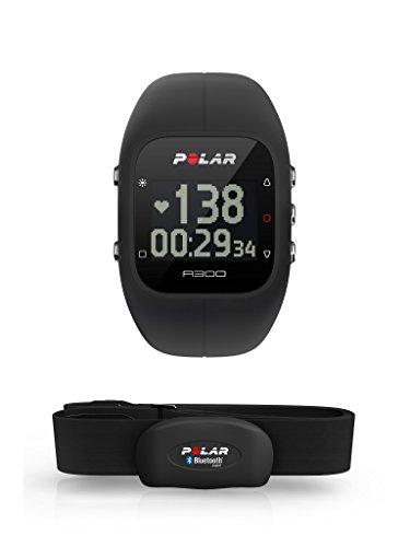 Polar Unisex  A300 Fitness und Activity Tracker mit Pulsmesser , Schwarz
