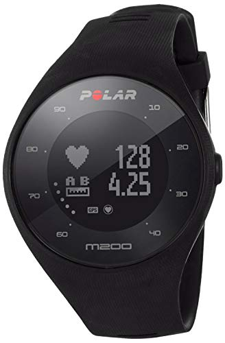 Polar Sportuhr M200, schwarz, M/L