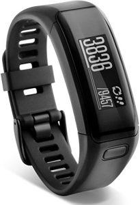 Garmin vívosmart HR Fitness-Tracker – integrierte Herzfrequenzmessung am Handgelenk, Smart Notifications, Schwarz, XL (18-22,4 cm)