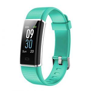 YAMAY Fitness Armband,Wasserdicht IP68 Fitness Tracker mit Pulsmesser 0,96 Zoll Farbbildschirm Aktivitätstracker Fitness Uhr Smartwatch,Pulsuhren,Schrittzähler Uhr,Smart Watch für Damen Herren