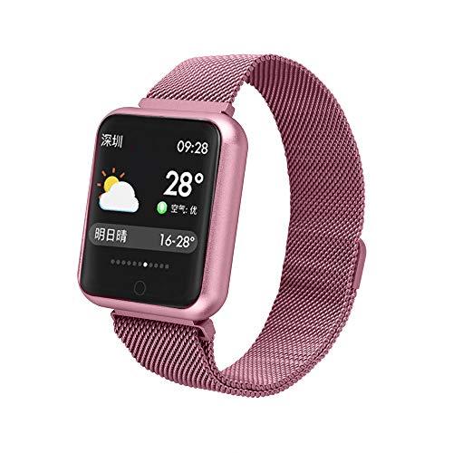 Smart Uhren Wasserdicht,Farbdisplay Blutsauerstoff Blutdruckmessgerät/Pulsmesser Sportaktivität Smart Armband Schrittzähler Schlaf Uhr Anruf SMS SNS Erinnern für iPhone Samsung Huawei Xiaomi HTC Sony