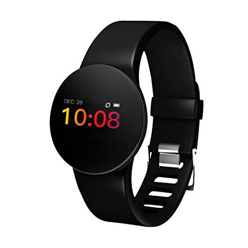 Kisshes Fitness Armbanduhr Tracker Frauen Männer Aktivitätstracker mit Kamera Herzfrequenz Schrittzähler Schlafmonitor, IP68 Wasserdicht Smartwatch für Andriod und IOS, Uhr Stoppuhr Pulsmesser