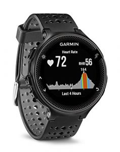 Garmin Forerunner 235 WHR Laufuhr, 24/7 Herzfrequenzmessung am Handgelenk, Smart Notifications, Aktivity Tracker, 1,2 Zoll (3 cm) Farbdisplay, 010-03717-55