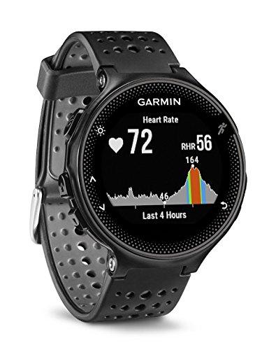 Garmin Forerunner 235 WHR Laufuhr, 24/7 Herzfrequenzmessung am Handgelenk, Smart Notifications, Aktivity Tracker, 1,2 Zoll (3 cm) Farbdisplay, 010-03717-55