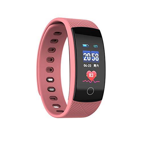 Mode Fitness Tracker | Wasserdicht Smartwatch mit Blutdruck- und Herzfrequenzmonitor, Aktivitäts Schrittzähler| QS80 Plus | Fitness Uhr für Android und IOS Smartphone | Damen Herren