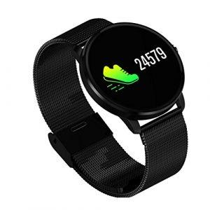 Damen Fitness Tracker Smartwatch Android IOS,VNEIRW CF007H 0.96 Zoll Bluetooth Wasserdicht Sportuhren Intelligente Uhr mit Physiologische Zyklus-Erinnerungen