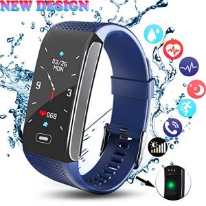 Fitness Armband, Aktivitätstracker mit Pulsmesser Schrittzähler Fitness trackers