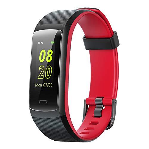 Willful Fitness Armband,Fitness Tracker mit Pulsmesser Wasserdicht IP68 Smartwatch Fitness Uhr Schrittzähler Pulsuhr Farbbildschirm Aktivitätstracker Sportuhr Damen Herren Anruf SMS Beachten für Handy