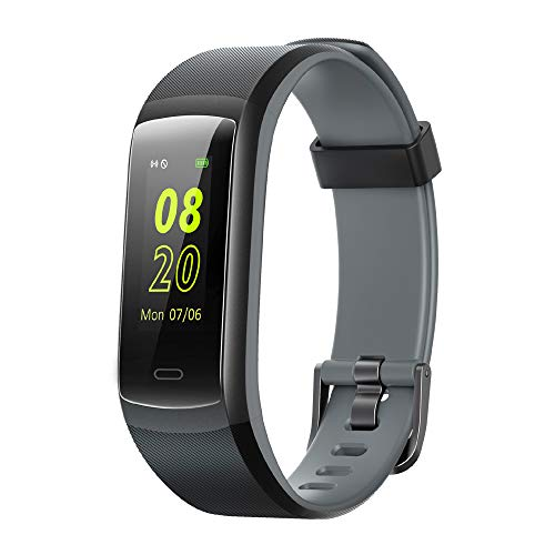 Willful Fitness Armband,Fitness Tracker mit Pulsmesser Wasserdicht IP68 Farbbildschirm Aktivitätstracker Pulsuhren Fitness armband Uhr Schrittzähler Smartwatch Damen Herren Anruf SMS Beachtenfür Handy