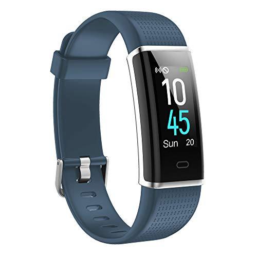 Willful Fitness Armband,Smartwatch Fitness Tracker mit Pulsmesser Wasserdicht IP68 Fitness Uhr Pulsuhr Schrittzähler Uhr Sportuhr Aktivitätstracker für Damen Herren Anruf SMS SNS Beachten