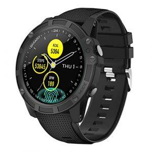 【Neuestes Modell】 Antimi Smartwatch, Bluetooth Smart Watch Fitness Tracker Armband Sport Uhr Pulsuhren Schrittzähler mit IP68 Wasserdicht Schwimmen Blutdruckmessung Blutsauerstoff für iOS Android …