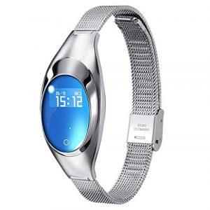 Bluetooth Smartwatch, BZLine Z18 Smart Watch Intelligente Armbanduhr Fitness Tracker Armband Sport Uhr mit Blutdruck Blutsauerstoffsättigung Pulsuhr für Kinder Frauen Männer