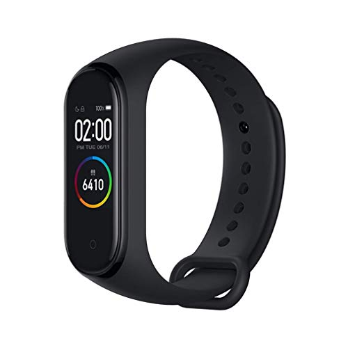Xiaomi mi band 4 smart fitness armband pulsmesser 135 mAh color bildschirm Bluetooth 5.0 Neueste 2019(Schwarz)