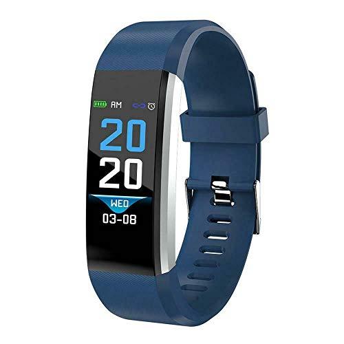 RS GROUP Fitness Armband mit Blutdruckmesser Pulsmesser Damen Herren Kinder Jugendliche Jungs Mädchen GPS passend für Android und IOS