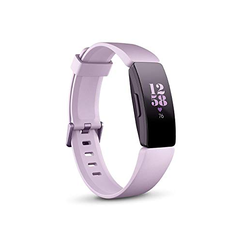 Fitbit Inspire HR Gesundheits- & Fitness Tracker mit automatischer Trainings Erkennung, 5 Tage Akkulaufzeit, Schlaf- & Schwimm-Tracking, Flieder