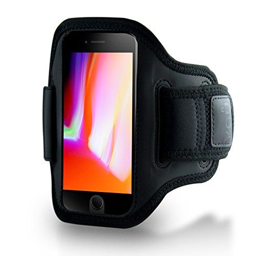 vau ActionWrap Sport-Armband Hülle kompatibel zu Apple iPhone 8/7 (Sport-Hülle ist Homebutton & Touch-ID kompatibel)