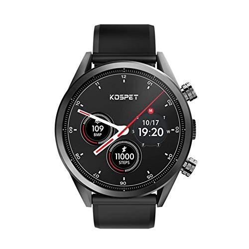 campsinery Kospet Hope 4G Smartwatch, SmartWatch Android 7.1 3GB+32GB ROM-Dual-GPS mit 8MP-Kamera IP67 Wasserdichte Smartwatch für Männer und Frauen
